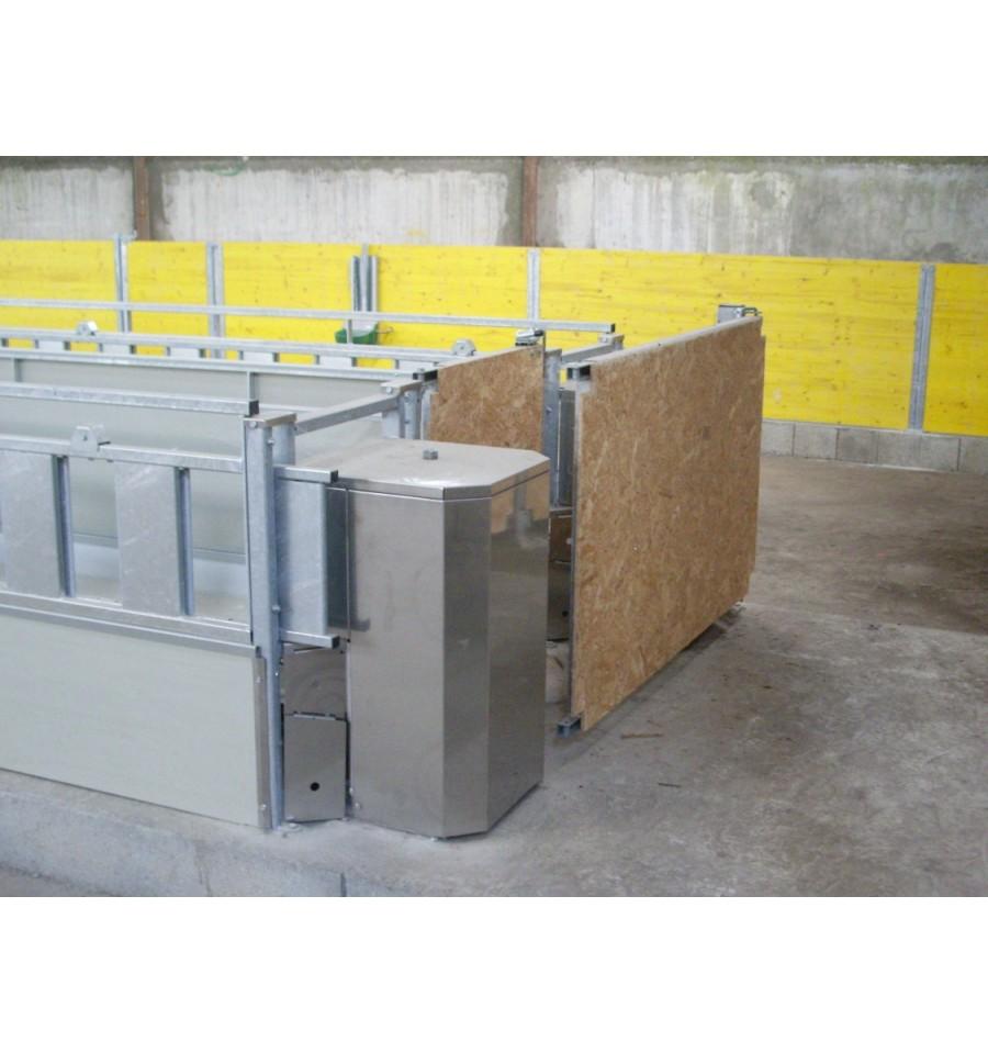 Ratelier bois auge trottoir 2m copagno 1m65 large for 2m distribution
